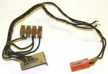Mains wiring harness