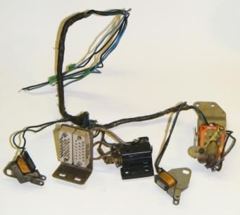 Control wiring harness