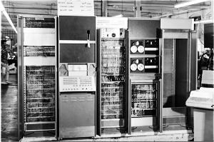 A PDP-7/A in manufacture destined for Concord Control Corporation