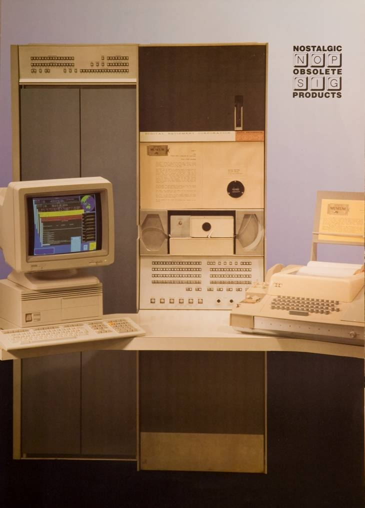 Digital Equipment Corporation PDP-7 S#47 - Australian Atomic